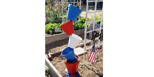 """Planter Pot Tower"""