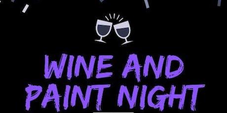 Halloween Wine and Paint Night tickets
