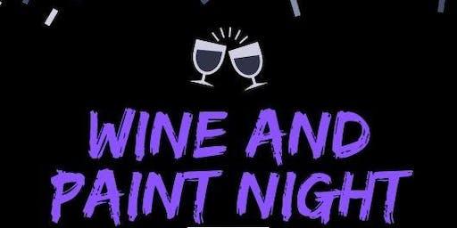 Halloween Wine and Paint Night