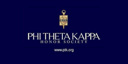 Phi Theta Kappa Fall Induction