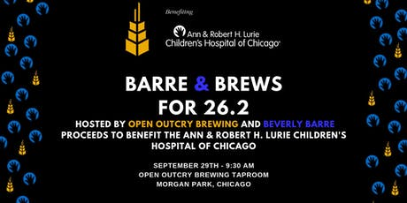 Barre and Brews for 26.2 tickets