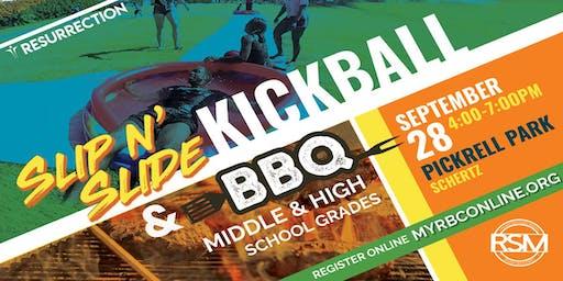 Slip N' Slide KICKBALL & BBQ