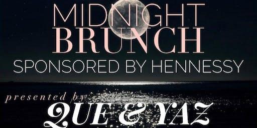 MIDNIGHT BRUNCH Sponsored by Hennessy