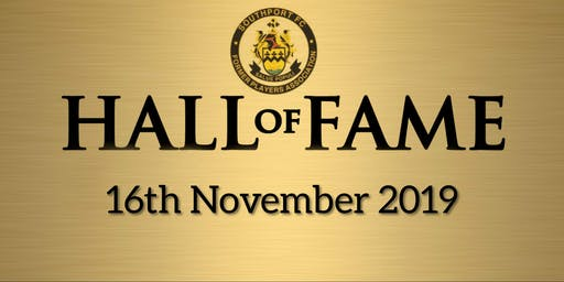 Southport FC Hall Of Fame 2019