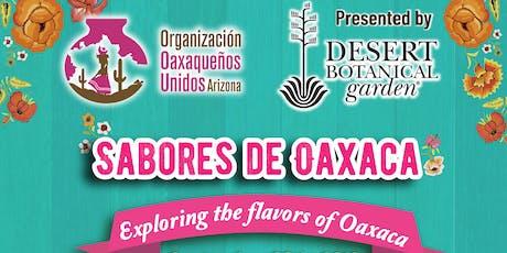 Sabores de Oaxaca tickets