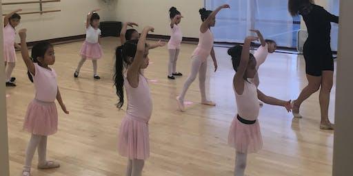 Beginner Ballet Children 4-8 years old