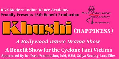 Khushi (Happiness) A Bollywood Dance Drama Show for Cyclone Fani Victims
