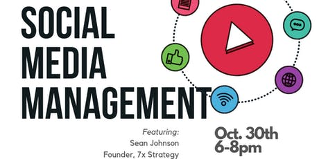 Digital Marketing for Founders Series: Social Media Management tickets