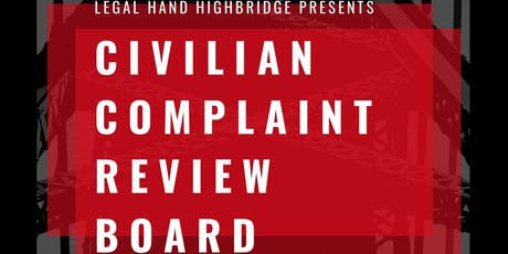 Civilian Complaint Review Board Monthly Info Session tickets