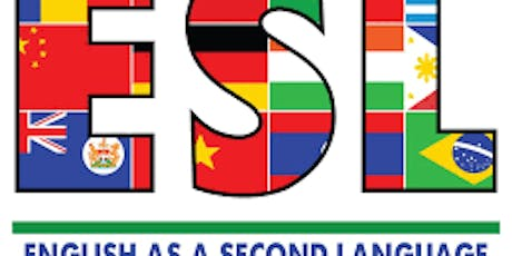 100% FREE ESL (English As A Second Language-levels 1-4) ..Register Today!! tickets