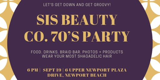 Bring Your Hair 70s Party!