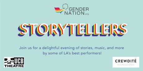 Gender Nation Storytellers tickets