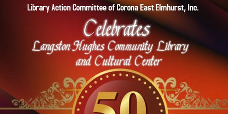 Langston Hughes Library 50th Anniversay tickets