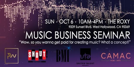 Music Business Seminar tickets