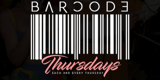 BarCode Thursday's