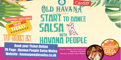 Cuban Salsa Class Beginners in Cardiff - Havana People Salsa Wales tickets