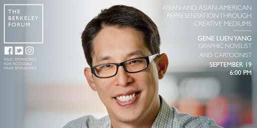 Graphic Novelist and Author of American Born Chinese Gene Luen Yang at the Berkeley Forum