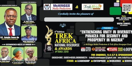 TREK AFRICA NATIONAL DISCOURSE AND AWARDS 2019
