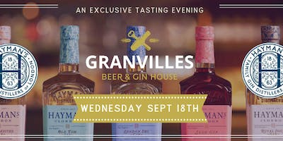 An exclusive tasting evening with Hayman's - A true English Gin