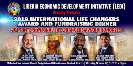 2019 International Life Changers Award and Fundrasing Dinner tickets