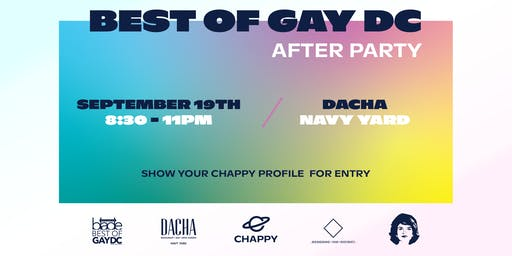 Best of Gay DC After Party presented by Chappy