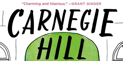 "Jonathan Vatner ""Carnegie Hill"" Book Event November 2nd @5pm"