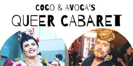 Coco & Avoca's Queer Cabaret tickets