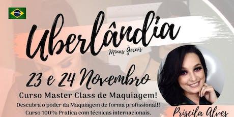 MASTER CLASS DE MAQUIAGEM - UBERLÂNDIA MG ingressos