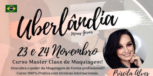 MASTER CLASS DE MAQUIAGEM - UBERLÂNDIA MG