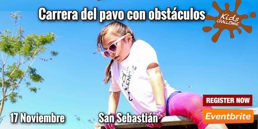 Kids Challenge, carrera del pavo con obstáculos
