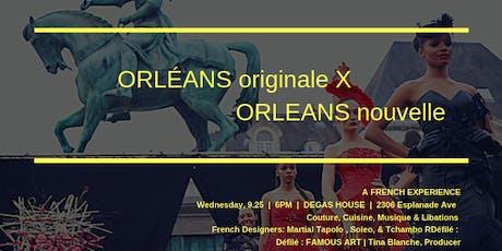 """Orléans X Orleans ~""""Soeur Cities Liasson de la Mode"""" tickets"""