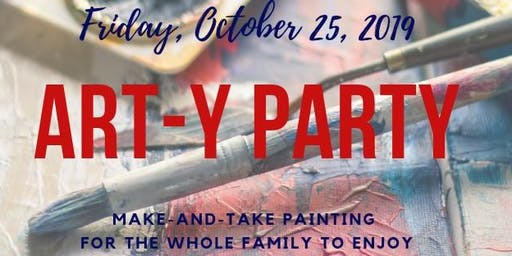Art-y Party (Painting Event for the whole family)