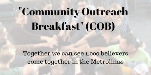 Community Outreach Breakfast, Harvest Festival 2019