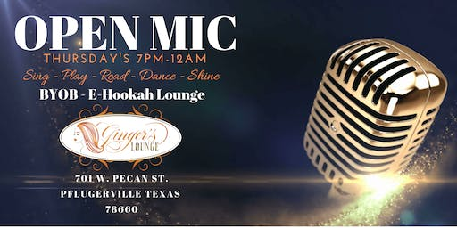 Open Mic @ Ginger's Lounge