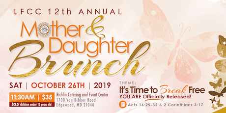"""Mother and Daughter """"Brunch"""" 2019 tickets"""