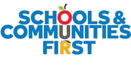Prop 13 Reform: Schools & Communities First tickets