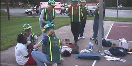 Community Emergency Response Team Training tickets