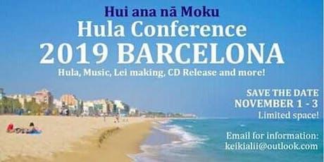 HULA CONFERENCE BARCELONA 2019 ingressos