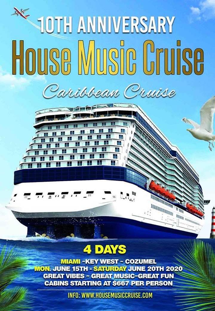 Key West Cruise Ship Schedule 2020.House Music Cruise 10th Anniversary