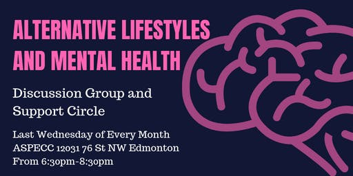 Alternative Lifestyles & Mental Health Discussion Circle
