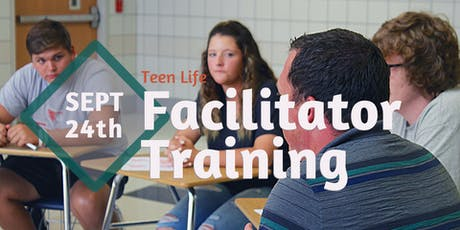 Teen Life Facilitator Training, September 24th (Abilene) tickets