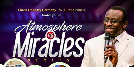 Atmosphere for Miracles Berlin tickets