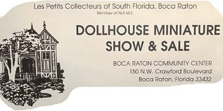 Miniature Show and Sale tickets