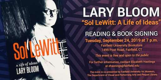 Lary Bloom Reading & Book Signing