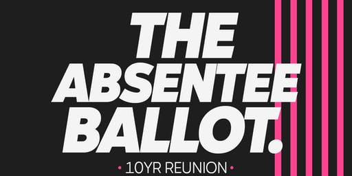 The Absentee Ballot 10yr Anniversary Show (CAPE CORAL, FL)