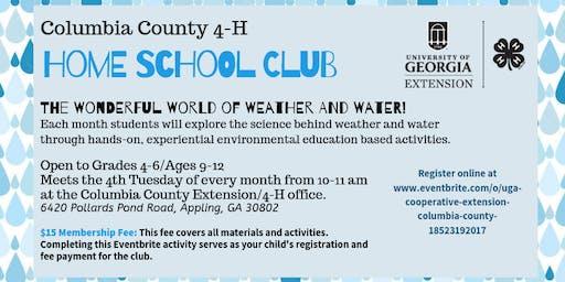 4-H Home School Club (Grades 4-6 / $15)