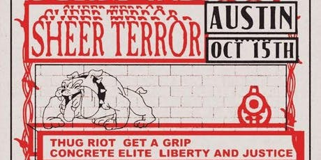 SHEER TERROR • THUG RIOT • GET A GRIP (and more) at Barracuda tickets