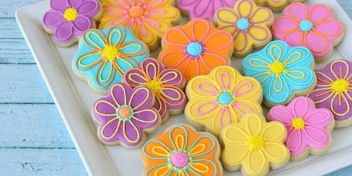 Mixed Shape Sugar Cookie Decorating with Buttercream