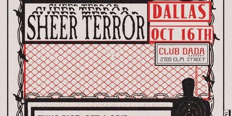 SHEER TERROR • THUG RIOT • GET A GRIP (and more) at Club Dada tickets