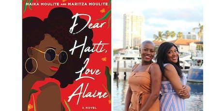 Meet Maika & Maritza Moulite discussing DEAR HAITI, LOVE ALAINE tickets